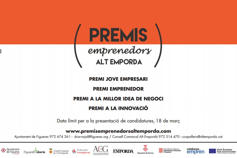 Premis Emprenedor de l'Alt Emporda 2016
