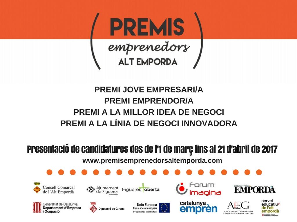 Premis Emprenedors Alt Empordà 2017