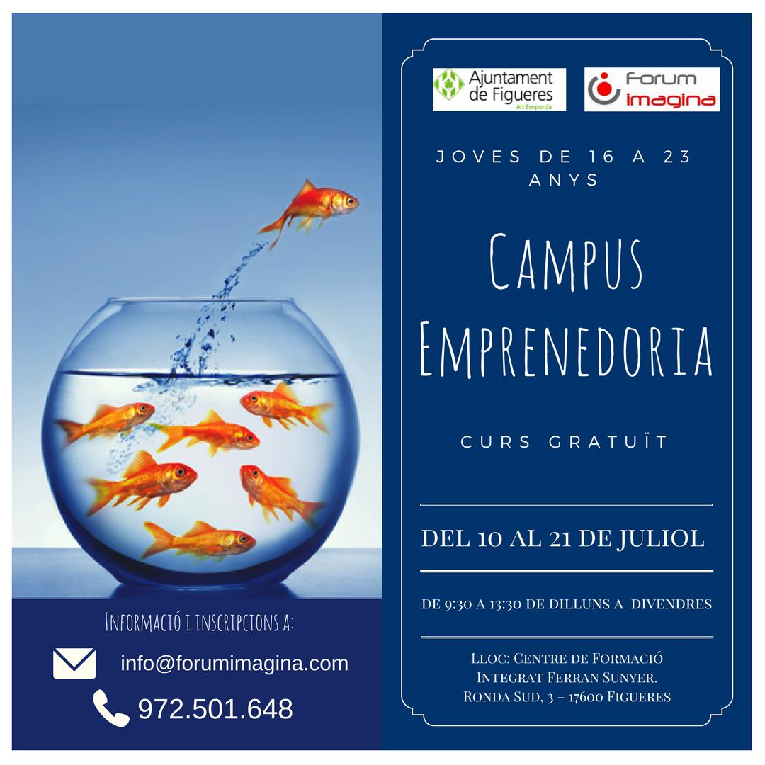 Campus Emprenedors Estiu 2017 – Curs Gratuït
